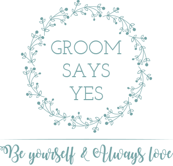 Groom Says Yes